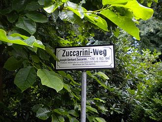 Joseph Gerhard Zuccarini - Image: Zuccarini Weg