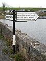 """Fishing"" signpost at Cootehall - geograph.org.uk - 802962.jpg"