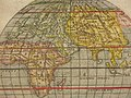 """Orbis Descriptio"" (two hemispheres) a closer view of the eastern hemisphere.jpg"