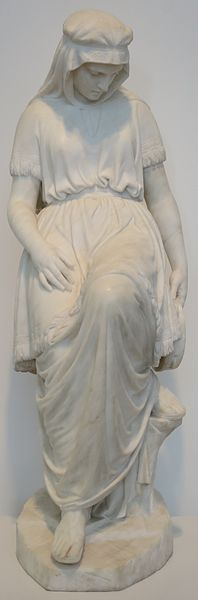 File:'Jephthah's Daughter' by Chauncey Bradley Ives, High Museum.JPG