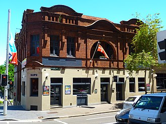 Royal George Hotel, Sydney - The building in 2010