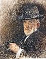 (Albi) Portrait de l'artiste au chapeau - Léon Bonnat 1916 - Musée d'Orsay.jpg