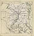 (Map of Washington D.C. region showing radial distances from Washington Air Junction, near Rose Hill, Fairfax County, Va.). LOC 88690523.jpg