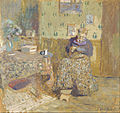 Édouard Vuillard - Madame Vuillard Sewing - Google Art Project.jpg