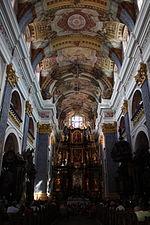Święta Lipka Kościół Pielgrzymkowy Wnętrze 017