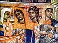 Μονή Χιλανδαρίου. Λεπτομέρεια από τα Εισόδια της Θεοτόκου. Περί το 1319.jpg