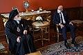 Σύναντηση ΥΠΕΞ Ν. Δένδια με Οικουμενικό Πατριάρχη Βαρθολομαίο 2021 05.jpg
