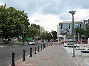 Ćuprija - Main street, 2010