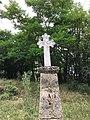 """Гробен споменик во дворот на црквата """"Св. Никола"""" - Калуѓерец.jpg"""