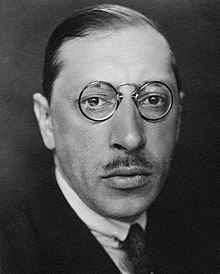 Stravinsky in the 1920s (Source: Wikimedia)
