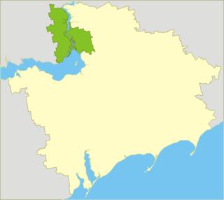 Zaporizhia Raion Raion in Zaporizhia Oblast, Ukraine