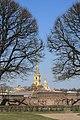 Петропавловская крепость - вид со стороны Дворцовой набережной.JPG