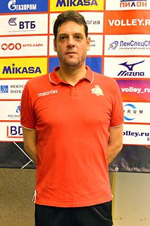Plamen Konstantinov Bulgarian volleyball player