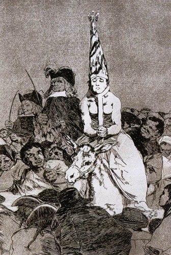 Ф.Гойя. Из цикла Los Caprichos 1797-98