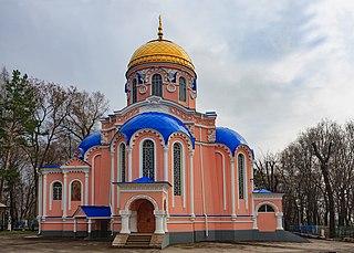 Auferstehungskirche auf dem Friedhof