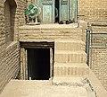 خانه غفوری23-راه پله ارتباطی بخش مهتابی و یکی از اتاق های مجاورآن در بخش تابستان نشین.jpg