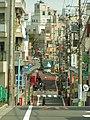 坂の上から富士見ヶ丘商店街 - panoramio.jpg