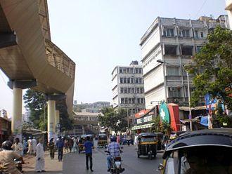 Ghatkopar - 'Sky walk constructed for pedestrian convenience