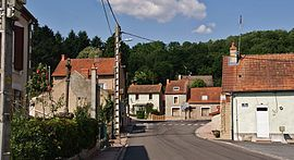 A view within Saint-Prix
