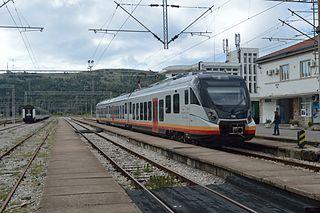 Rail transport in Montenegro