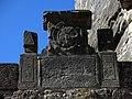 017 Arc del pas de la Foradada, cara exterior, relleu i inscripció.JPG