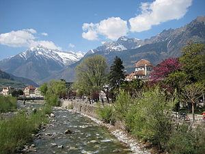 Passer (river) - The Passer in Merano