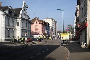 Saint-Louis, Haut-Rhin - Avenue de Bâle