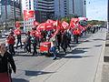 1. Mai 2013 in Hannover. Gute Arbeit. Sichere Rente. Soziales Europa. Umzug vom Freizeitheim Linden zum Klagesmarkt. Menschen und Aktivitäten (122).jpg