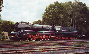 German Steam Locomotive Museum - A DB Class 10, number 10 001