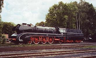 German Steam Locomotive Museum - A DB Class 10, number 10 001