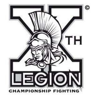 10th Legion Championship Fighting - Image: 10th Legion Logo