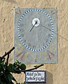 11 Can Romeu (Parets del Vallès), rellotge de sol.JPG
