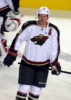 Ryan Suter - the cool, hot,  ice hockey player  with English roots in 2019
