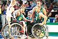 141100 - Wheelchair basketball Sandy Blythe points - 3b - 2000 Sydney match photo.jpg
