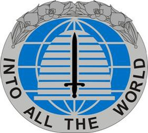 300th Military Intelligence Brigade (United States) - Image: 142 MI Bn DUI