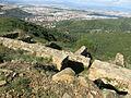 142 Poblat ibèric de Puig Castellar, amb Montcada al fons.JPG
