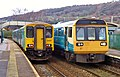 150256 Bridgend to Aberdare 2A36 and 142002 Treherbert to Cardiff Central 1F50 (41197107422).jpg