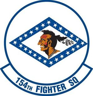154th Training Squadron - Image: 154th Fighter Squadron emblem