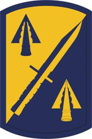 158th Infantry Brigade (United States) - Shoulder sleeve insignia