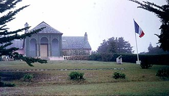 Saint Helena - Longwood House (photographed June 1970)