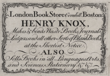 what did henry knox do