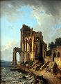 1824 Quaglio Kirchenruine am Meer anagoria.JPG