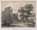 1842, España artística y monumental, vistas y descripción de los sitios y monumentos más notables de españa, vol. 1, Ruinas del palacio llamado de Galiana.jpg