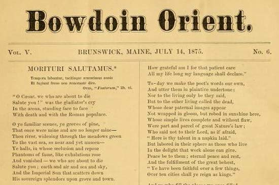 1875 Bowdoin Orient