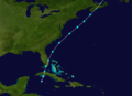 1889 Atlantic tropical storm 9 track.png