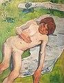 1889 Gauguin Bretonischer Junge anagoria.jpg