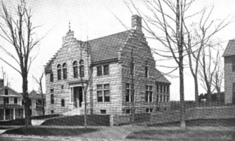 Leicester, Massachusetts - Leicester public library, 1899
