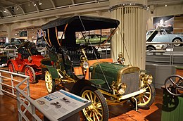 1905 Ford Model B touring car - The Henry Ford - Engines Exposed Exhibit 2-22-2016 (1) (32033682451).jpg