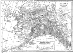 Location of Alaska Territory