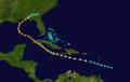 1917 Atlantic hurricane 4 track.png